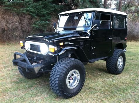 toyota jeep black 17 best images about toyota land cruiser fj40 on pinterest