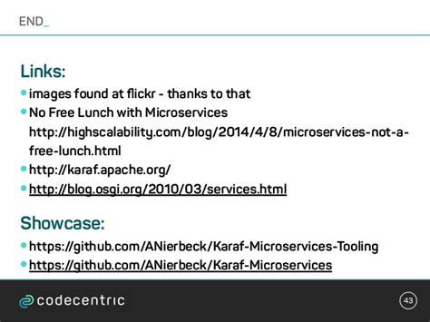 karaf tutorial github microservices osgi running with apache karaf