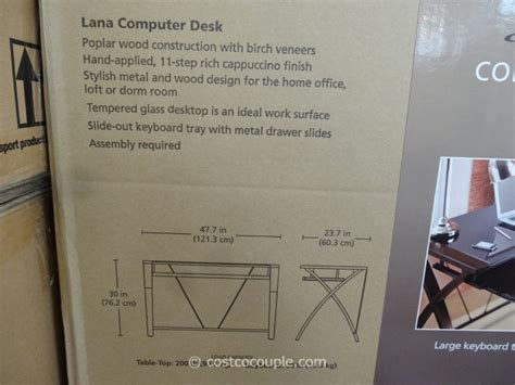 bayside furnishings lana computer desk bayside furnishings lana computer desk