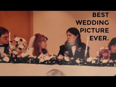 Caption This: Best Wedding Photo Ever.   YouTube