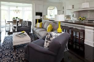 yellow and grey decor gray and yellow living rooms photos ideas and inspirations