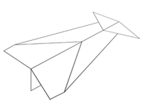How To Make Paper Look Fast - how to make a paper plane that can fly distance