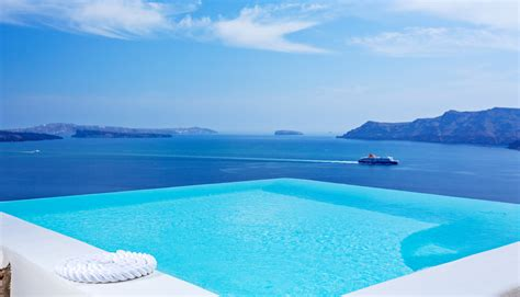 Infinity Pool infinity pool suite canaves oia santorini