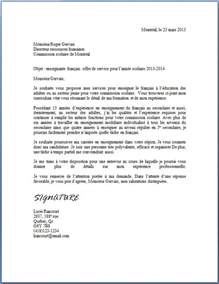 Lettre De Présentation Informaticien Letter Of Application Exemple D Une Lettre D Introduction