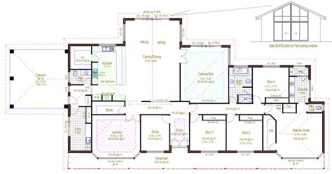 Select House Plans by Architecture Rectangular House Floor Plans Rectangular