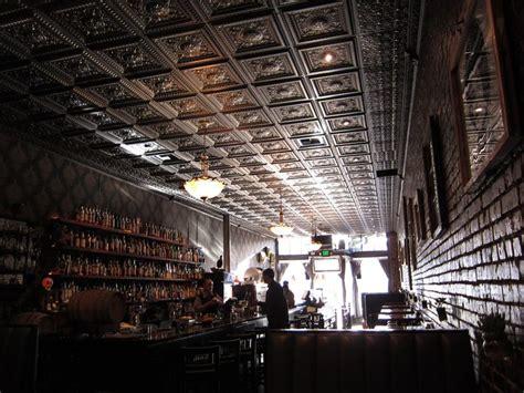 black tin ceiling bar dimitri pinterest tin ceilings