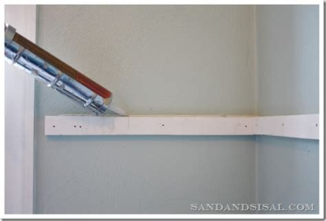 Cleat Shelf by How To Build Floating Shelves Sand And Sisal