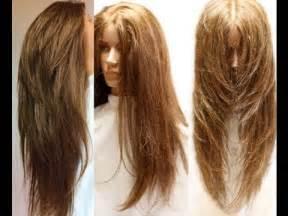layered vs shingled hair ultra layering haircut youtube