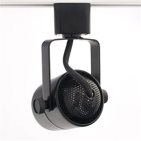 Gu10 Track Light Fixtures Gu10 Mr16 Black Mini Track Light Fixture