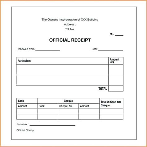 Installment Receipt Template by Payment Receipt Letter Baskan Idai Co