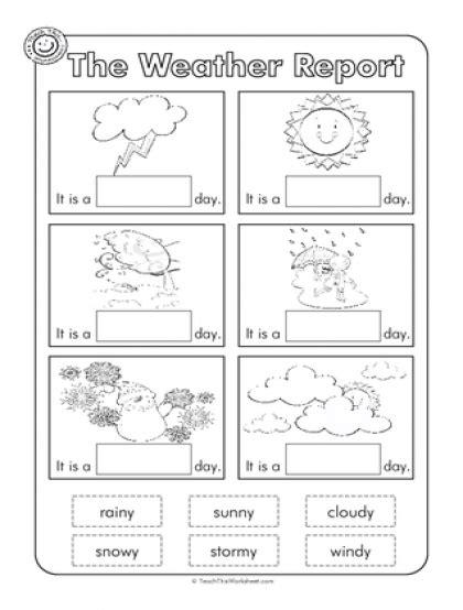 printable worksheets about weather weather worksheet for kindergarten free activities