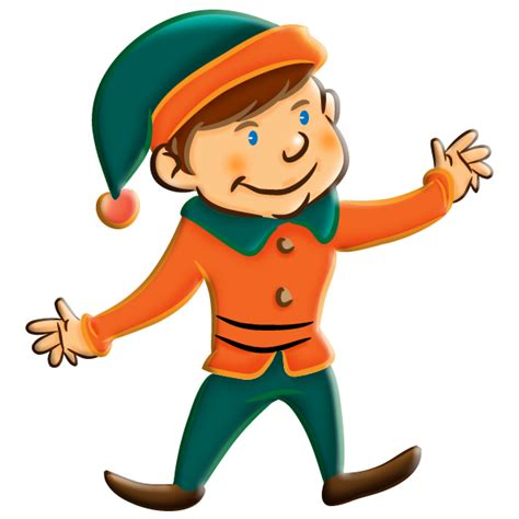 Free christmas elf clipart clipart best