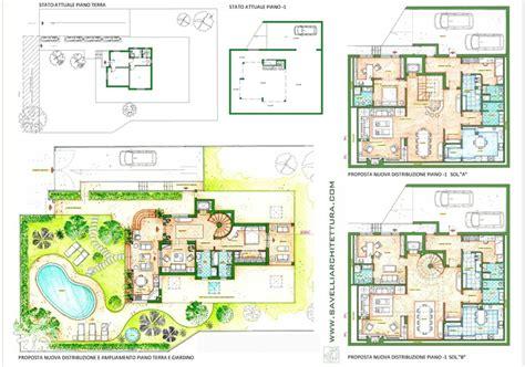 Pianta Casa Bifamiliare by Progetto Villa Unifamiliare A Due Piani Confortevole