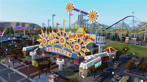 theme park world xbox 360 simcity s amusement park expansion explained in fine