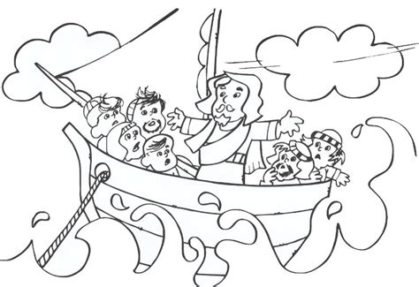 free coloring page jesus calms the storm free coloring pages of jesus calming the sea