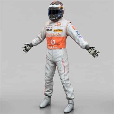 racing driver racing driver mercedes 3d 3ds
