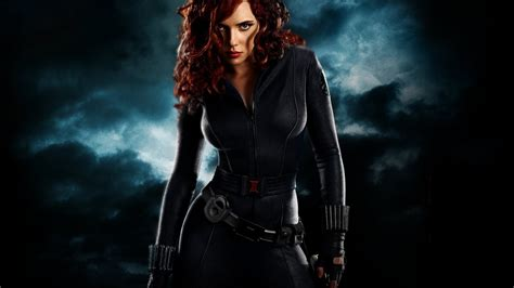 wallpaper black widow black widow iron man 2 wallpapers hd wallpapers id 8278