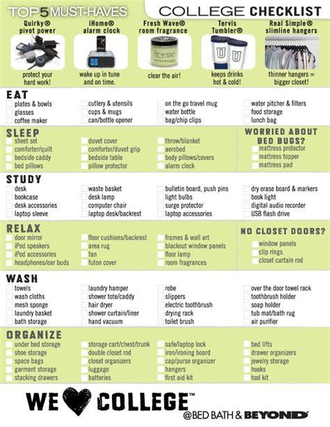 Bathroom Necessities For College 17 Best Ideas About College Checklist On