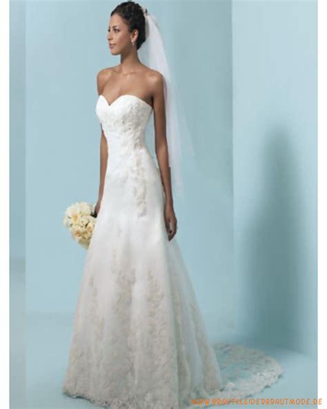 Schlichte Brautmode by Schlichte Hochzeitskleider Aus Spitze Und Satin