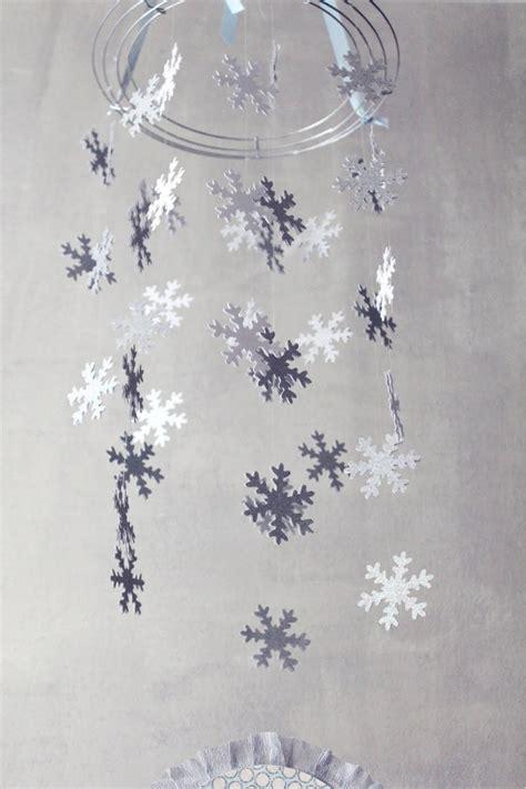 Icing Designs Diy Snowflake Chandelier Party Ideas Snowflake Chandelier