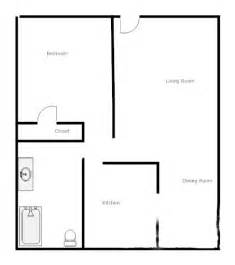 one bedroom cottage floor plans one room one bed one bath floor plan room home plans ideas