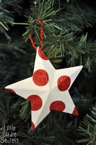 last minute christmas decorations 3d paper star wreath