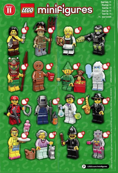 Lego The Original Minifigures Series lego minifigures series 11 released in united states stores bricks and bloks