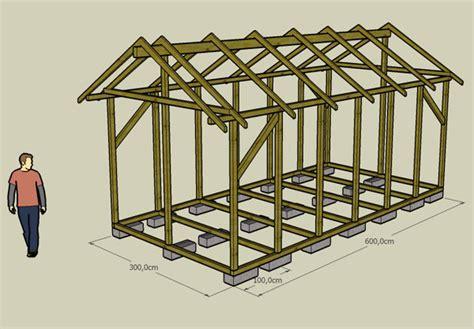 cabane en bois construction
