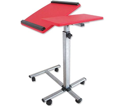 portable table with wheels portable laptop table with caster wheels sales