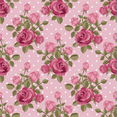 vintage pink roses wallpaper wallpaperhdccom