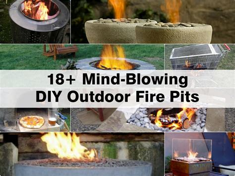 backyard diy fire pit 18 mind blowing diy outdoor fire pits