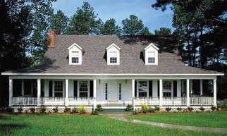 Country Home With Wrap Around Porch country home with wrap around porch 6221v architectural designs