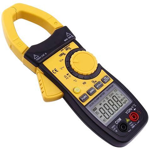Multimeter Digital digital ac dc cl meter multimeter thermometer voltmeter