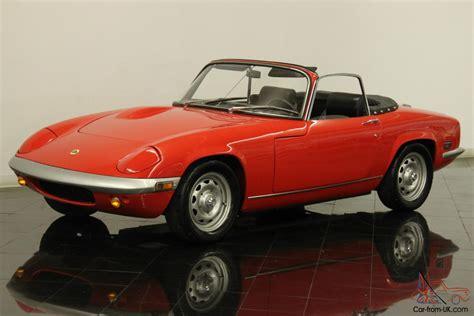 leopard 6 litre roadster 1970 lotus elan s4 roadster rare restored 1 6 liter 4 cly
