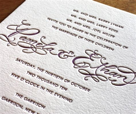 Thick Paper Wedding Invitations by What Paper Will My Invites Paper Options For Wedding