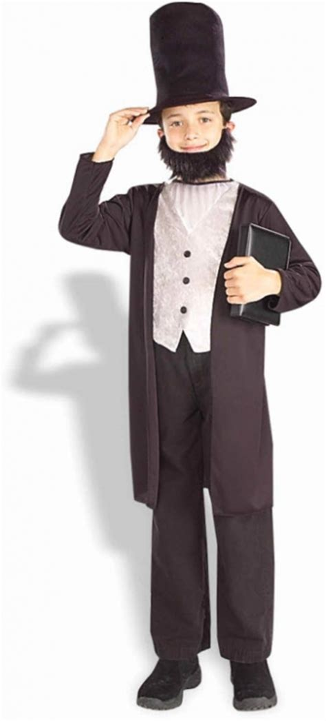 abraham lincoln costume for child abraham lincoln child costume costumes