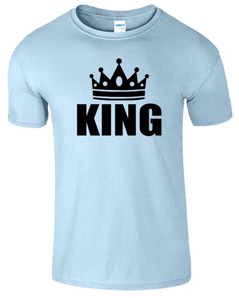 Is King Tshirt king and t shirt mens womens crown logo