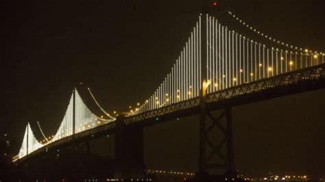 Bay Bridge Light Show by Bay Bridge Light Show Will Go On Nbc Bay Area