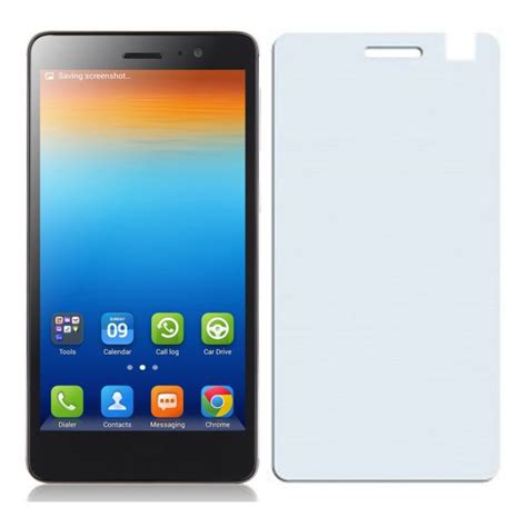 Book Flip Shell Lenovo S860 screenguard glossy