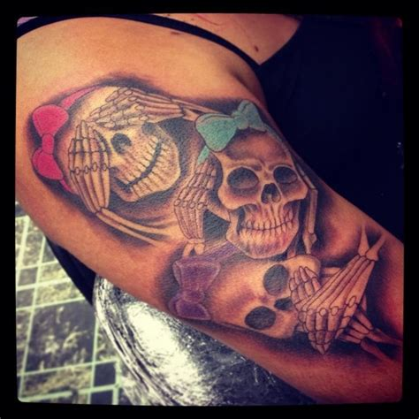 ink addiction tattoo 17 best hear see speak no evil images on ha ha
