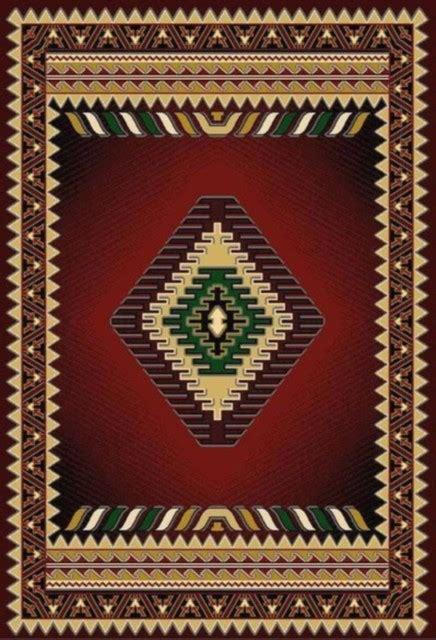 burgundy arrow southwestern area rug  southwestern