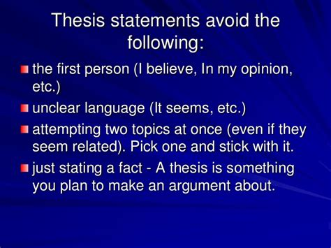 creating thesis need help creating a thesis statement writing lab