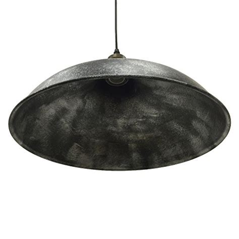 Pendant Light Dubai Baycheer Hl371906 Industrial Vintage Style Lid Shaped Pendant Lighting In Antique Silver Pendant