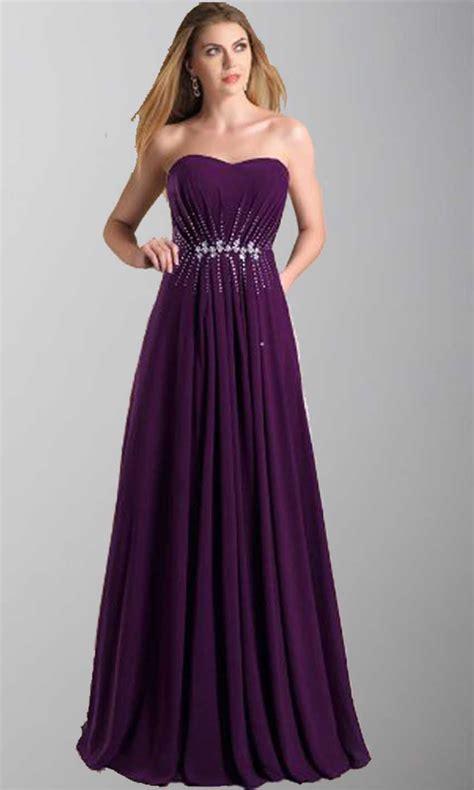 purple bridesmaid dresses uk cheap purple bridesmaid purple strapless sweetheart chiffon lone prom dresses