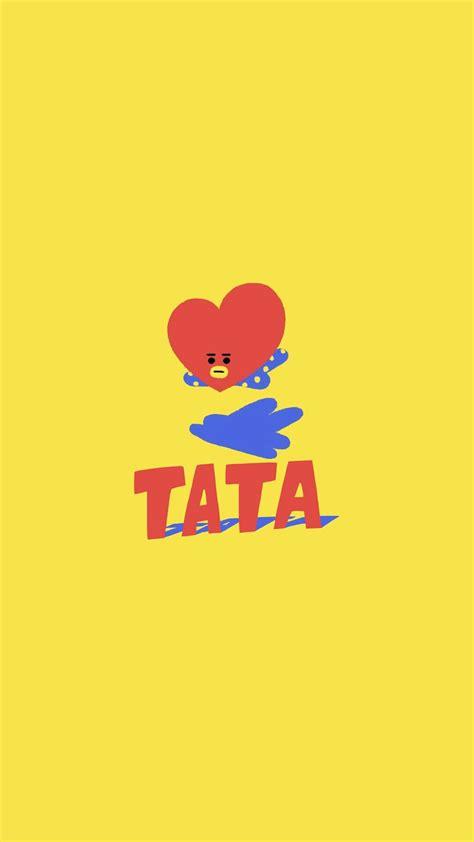 kim taehyung tata bts v linesticker tata kim taehyung bts wallpaper