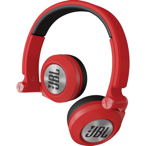 Headset Jbl Synchros E30 Jbl Synchros E30 On Ear Headphones E30red B H Photo