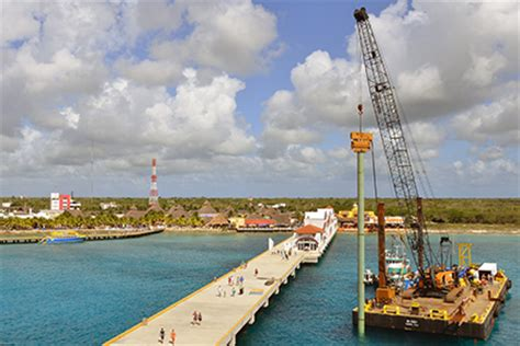 Car Rental Cozumel Port by Work Starts On New Cozumel Pier This Is Cozumel