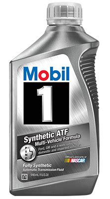 Oli Gearbox Mobil by Mobil 1 Synthetic Automatic Transmission Fluid Mobil