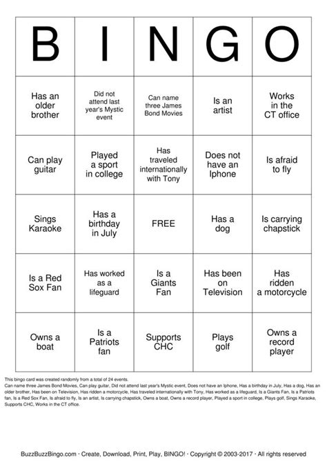 Breaker Bingo Template by Icebreaker Bingo Bingo Cards To Print And Customize