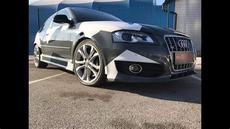 Audi A3 Optik Tuning by Dia Show Tuning Audi A3 S3 Sportback Mit Camouflage Optik